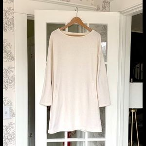 NWT Lou & Grey Soft Sweatshirt Dress
